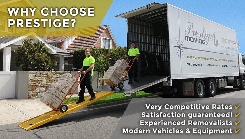 Prestige Moving - Expert Melbourne Removals